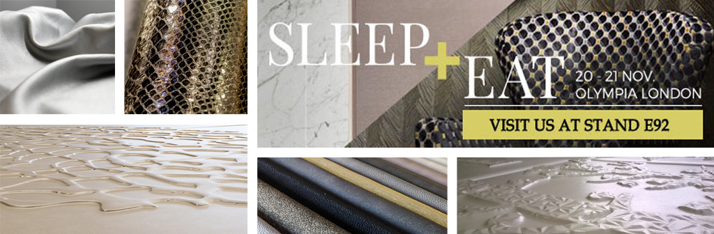 Prodital Leathers at Sleep+Eat London 2018 – The Hotel Design Event